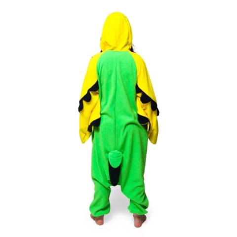 Попугай зеленый