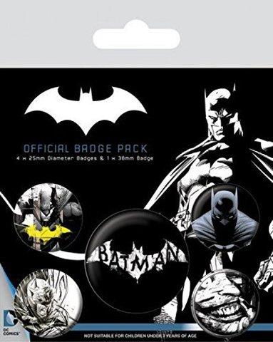 Набор значков Batman