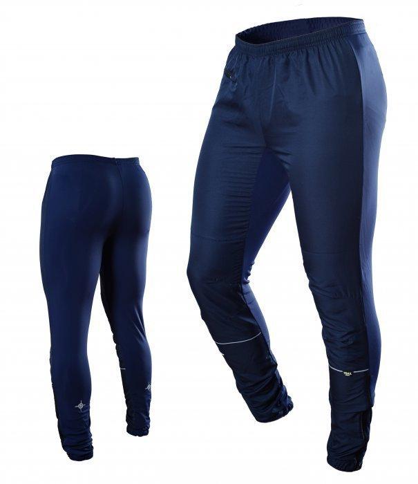 Беговые брюки Noname Running темно-синие унисекс (660095)