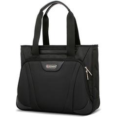 Сумка WENGER 16'', цвет черный, 1 отделение, карман-органайзер,  41x9x33 см, 12 л