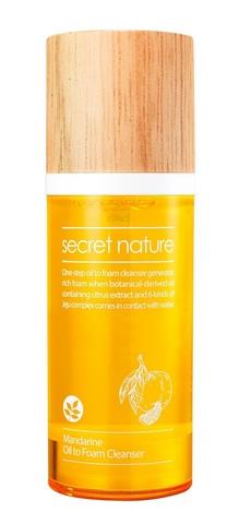 Гидрофильное масло-пенка с мандарином - Secret Nature Mandarine Oil To Foam Cleanser