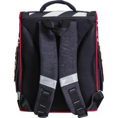 496bf6dcf726 ... Рюкзак школьный каркасный с фонариками Bagland Успех 12 л. черный 175k ( 00551703)
