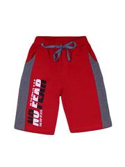 BK1324SH-1 шорты для мальчиков, красные