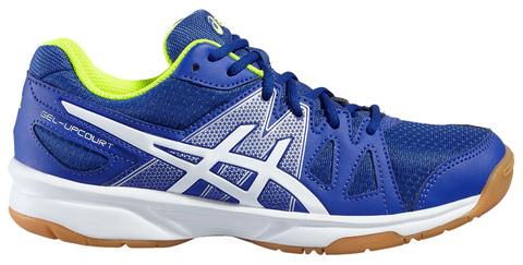 ASICS GEL-UPCOURT GS детские волейбольные кроссовки синие