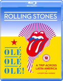 The Rolling Stones ‎/ Ole Ole Ole! - A Trip Across Latin America (Blu-ray)