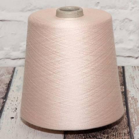Шелк с кашемиром (35%)  CARIAGGI SUNNY 2/110  бледно-розовый
