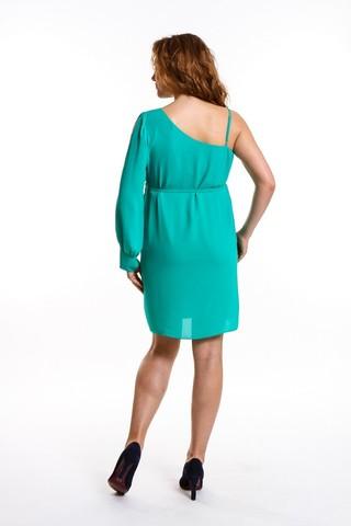 Платье 08668 зеленый