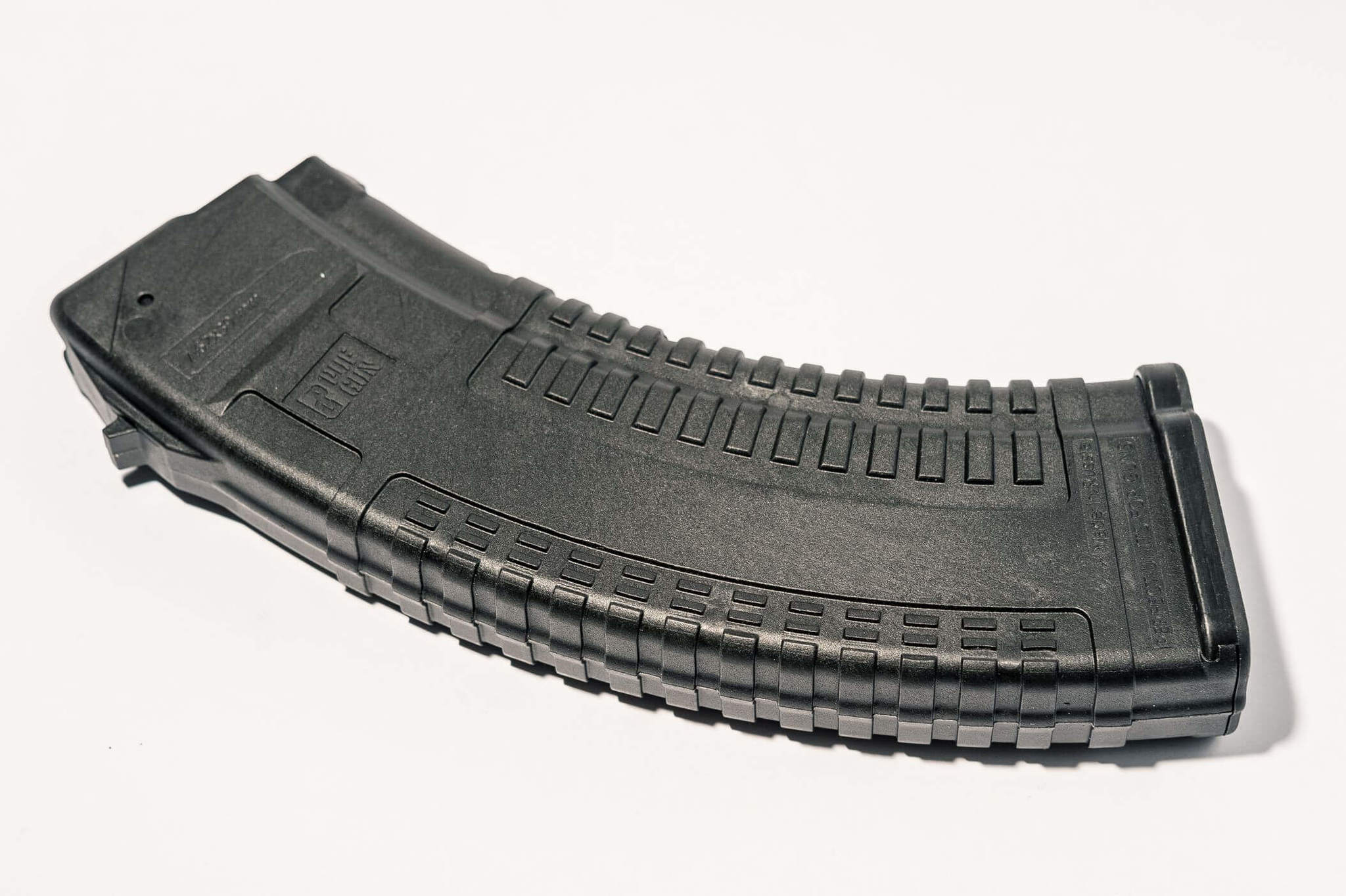 Магазин Pufgun для АКМ 7.62x39 ВПО-136 ВПО-209 на 30 патронов, чёрного цвета