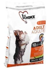 Корм для взрослых собак миниатюрных и мелких пород, 1st Choice Adult, с курицей