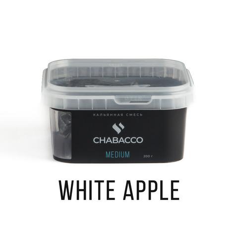 Chabacco 200гр - White apple (Белое яблоко)