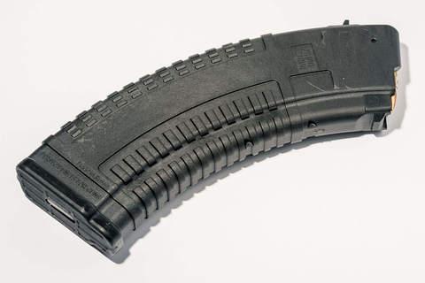 Магазин Pufgun для 7.62x39 ВПО-136 ВПО-209 на 30 патронов, чёрного цвета