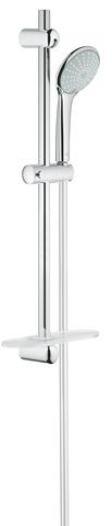 Euphoria Душевой гарнитур Eco 600 мм, полу-фиксированные крепления