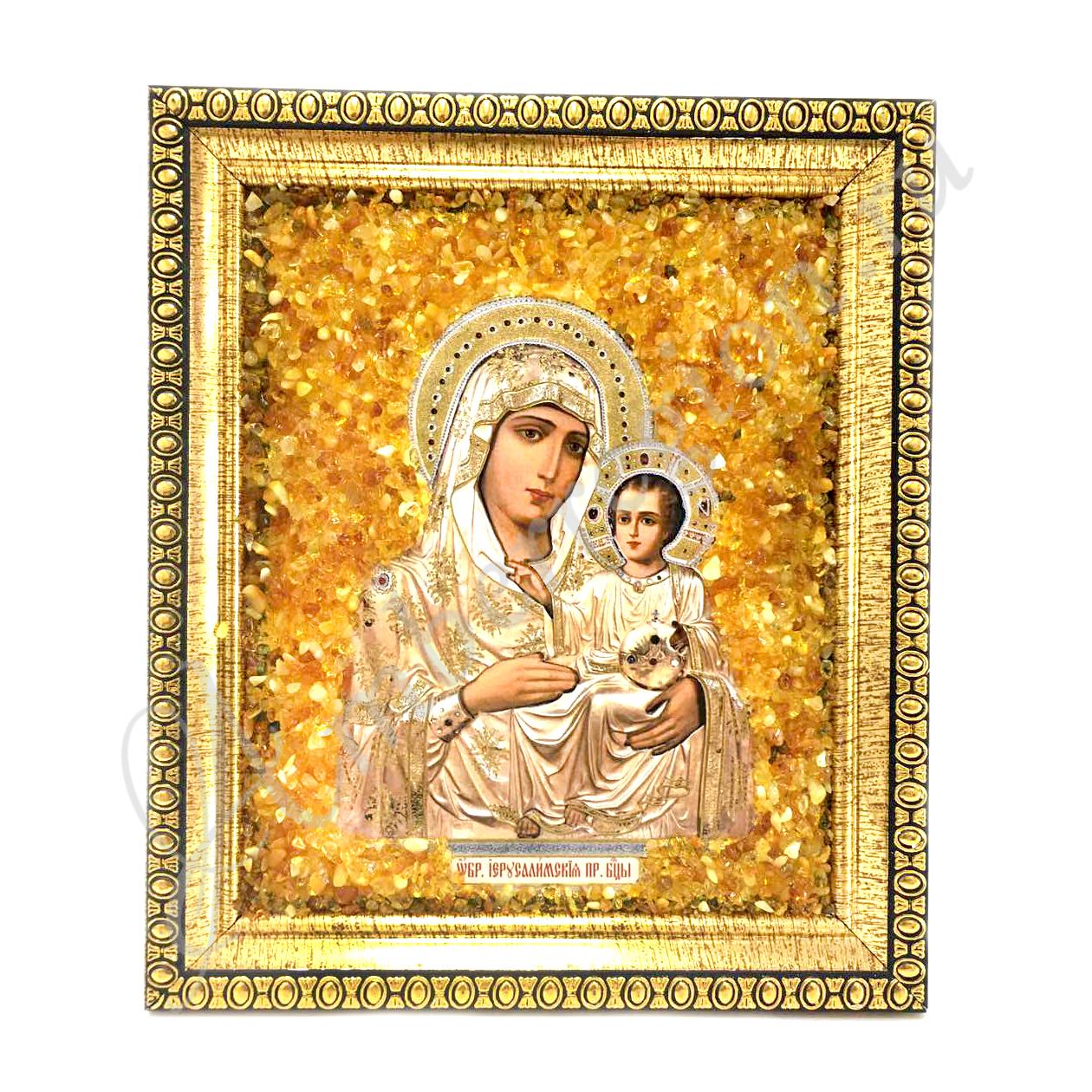 Икона Иерусалимской Божьей Матери