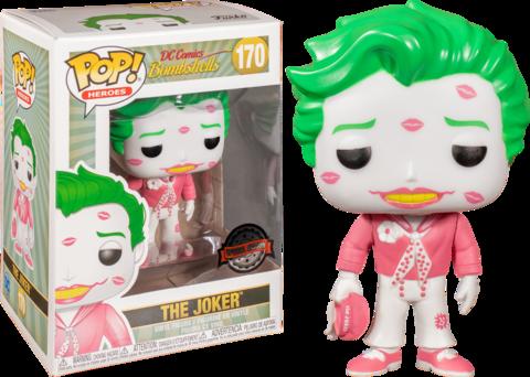 Фигурка Funko Pop! Heroes: DC Bombshells - The Joker (Excl. to Hot Topic)