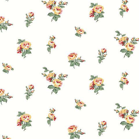 Обои Aura English Florals G34344, интернет магазин Волео