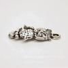 "Подвеска ""Сова"" (цвет - античное серебро) 25х13 мм"