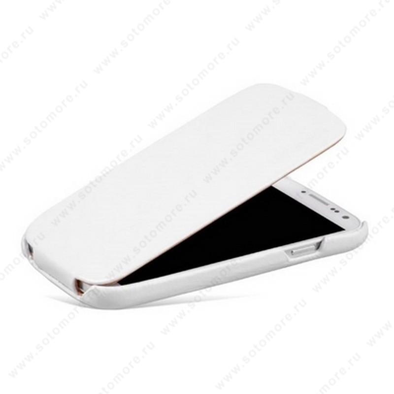 Чехол-флип Borofone для Samsung Galaxy S4 i9500/ i9505 - Borofone General Leather Case White