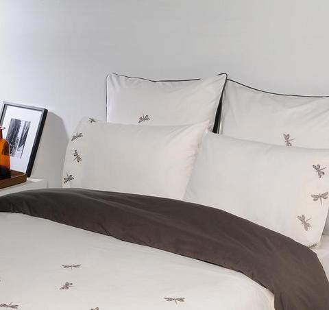 Постельное белье 2 спальное евро Bovi Вечерние стрекозы