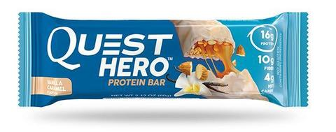 Батончики Quest Hero Bar Vanilla Caramel