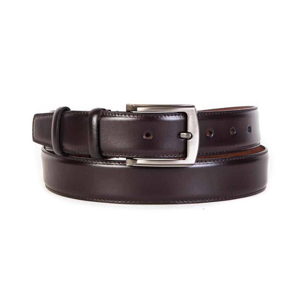 Ремень брючный коричневый 35 мм Doublecity RC35-31-04