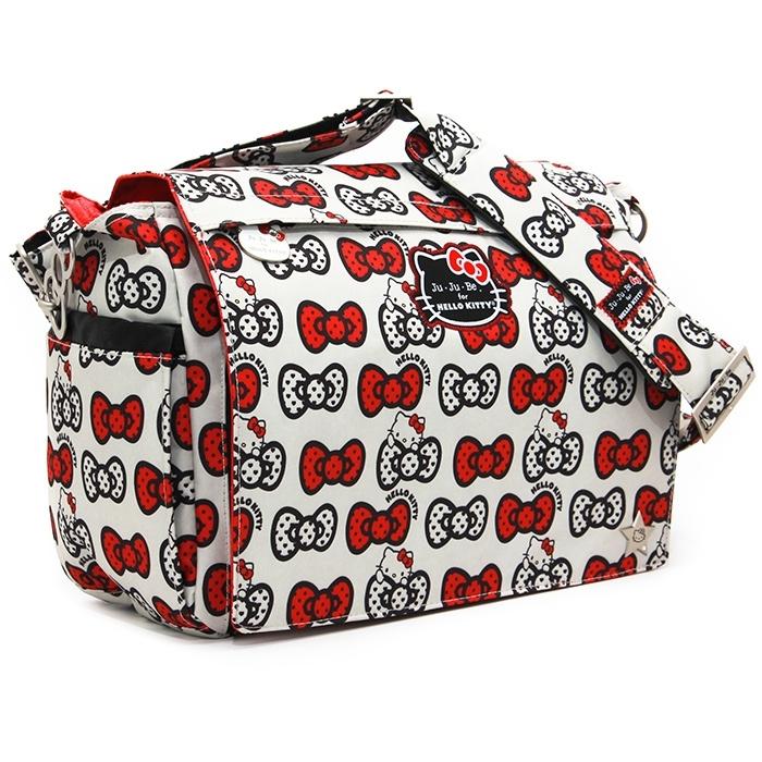 #Сумка для коляски Ju-Ju-Be Better Be Hello Kitty Peek A Bow