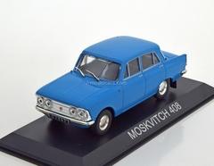Moskvich-408 blue 1:43 DeAgostini Masini de legenda