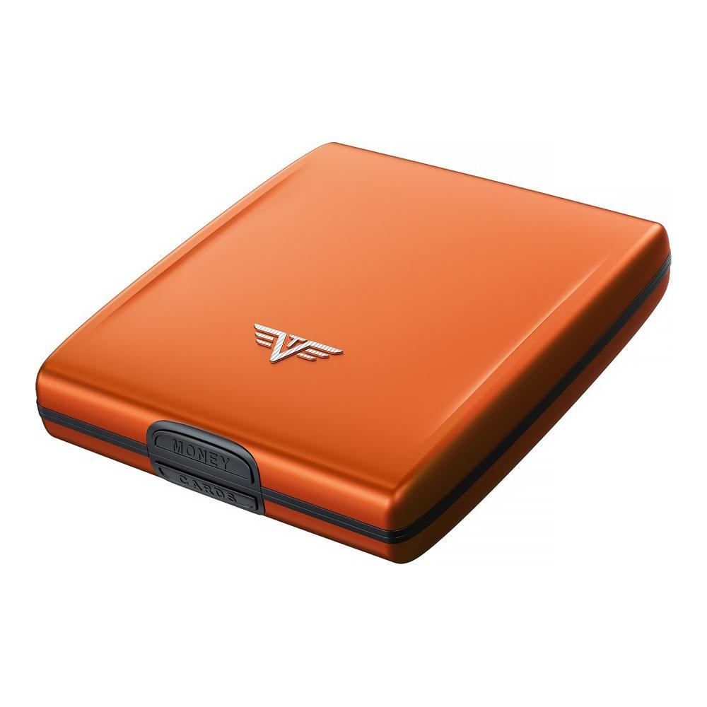 Кошелек c защитой Tru Virtu BELUGA, цвет оранжевый, 107*93*22 мм
