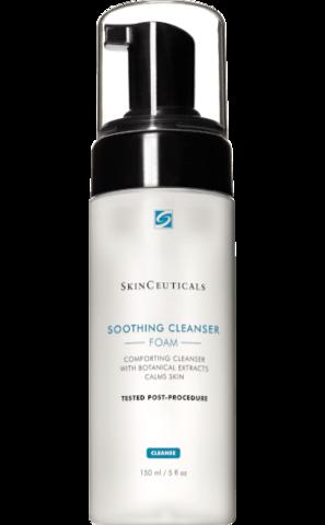 SkinCeuticals SOOTHING CLEANSER FOAM Нежная очищающая пенка с растительными экстрактами 150мл