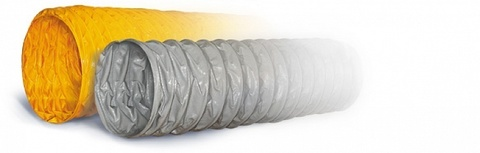 ПВХ Tex PVC - F 300 d508 1м Воздуховод на основе полиэфирной ткани, пропитанной