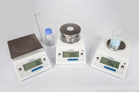 Лабораторные весы ДЭМКОМ DL-313 с гирей
