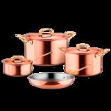 Набор посуды Gustibus 4 предмета, артикул GUSTIBUS-4, производитель - Ruffoni
