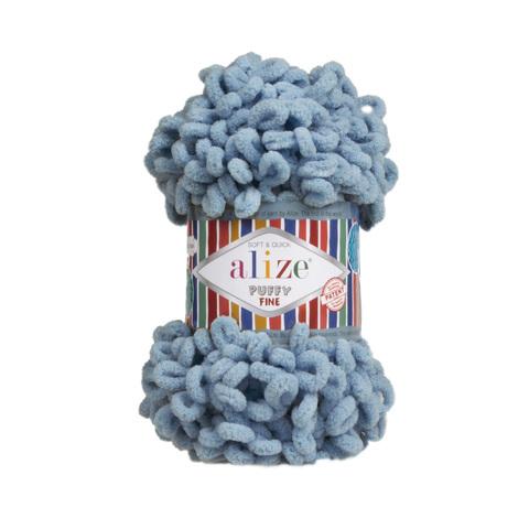 Купить Пряжа Ализе Пуффи Файн Код цвета 280 | Интернет-магазин пряжи «Пряха»