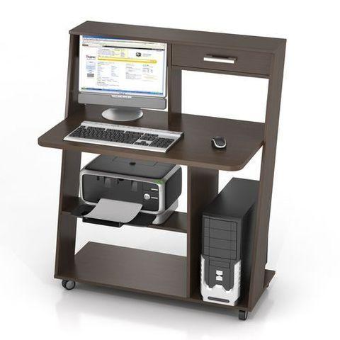 Компьютерный стол ФРЕГАТ-КC-9М венге