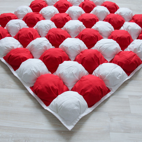 Игровой коврик Бомбон Red красный