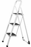 Лестница-стремянка СИБИН стальная c широкими ступенями