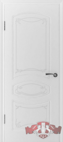Дверь Владимирская фабрика дверей Версаль 13ДГ0, цвет белая эмаль, глухая