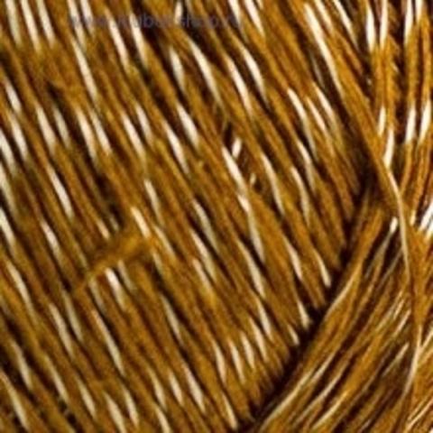 Пряжа Блестящий лен (Пехорка) Золото 34