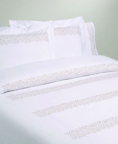 Постельное белье 2 спальное евро Bovi Жемчужный узор