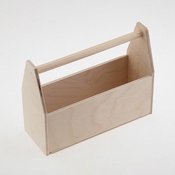 Ящик для мыла деревянный с ручкой