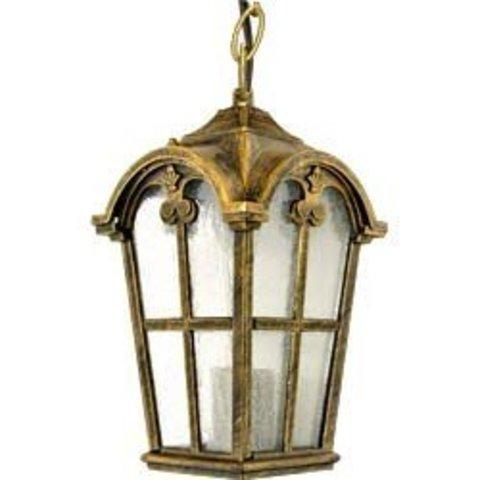 Светильник садово-парковый, 60W 230V E27 черное золото, PL106 (Feron)