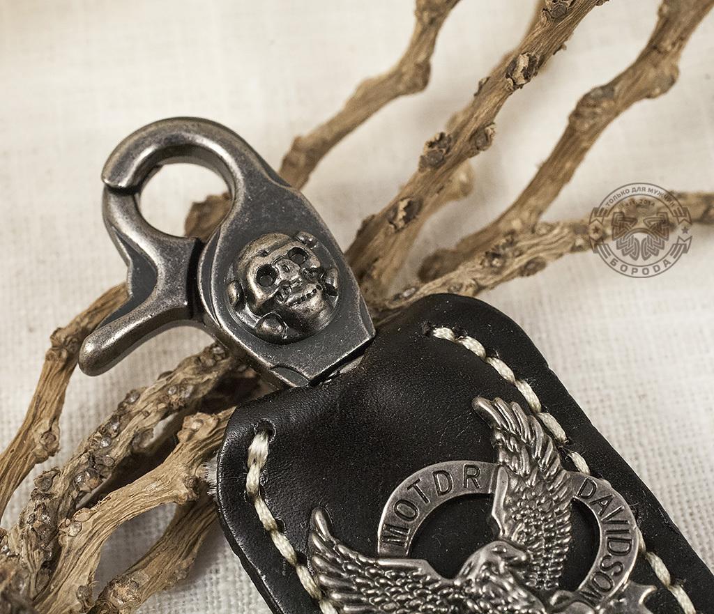 "KR107-1 Массивный брелок-ключница ""Eagle"" фото 02"