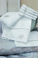 Набор полотенец 2 шт Blumarine Cheryl белый