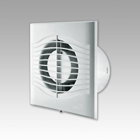 Вентилятор накладной Эра SLIM 4-02 D100 со шнурком вкл/выкл