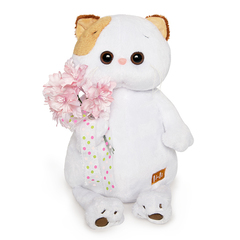 LI-LI CAT WITH A BOUQUET 24 CM