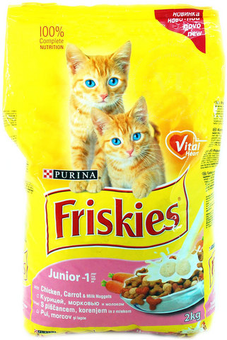Friskies С курицей для Котят 400 г