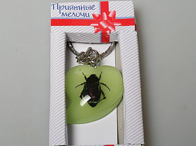 Брелок капля 430061 жучище