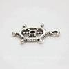 """Подвеска """"Штурвал"""" 20х15 мм (цвет - античное серебро)"""