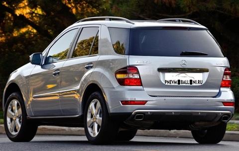 Mercedes-Benz ML W164 2005-2011 Ремонт Задней Пневмоподвески