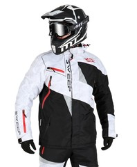 Куртка снегоходная - Sweep Snow Core - Black-White