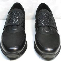 Удобные кроссовки на каждый день мужские Luciano Bellini 1087 All Black